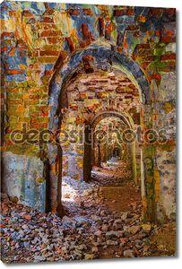 Украина, руины крепости тараканов