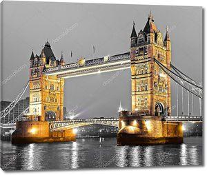 Тауэр Бридж, Лондон, Великобритания