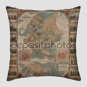 Старая карта Российской державы