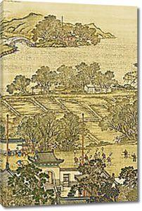 Деревенские азиатские мотивы