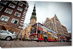 Город Рига экскурсионный тур автобус