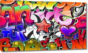 Уличный граффити фон