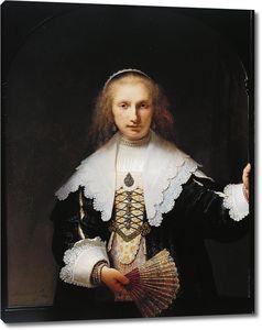 Рембрандт. Портрет Агаты Бас