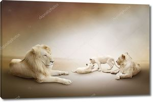 Белый Лев Семья