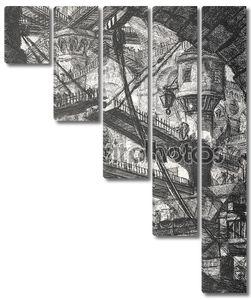 Джовани Баттиста Пиранези. Подъемный мост