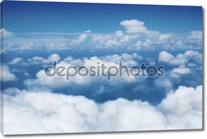 небо и облака.