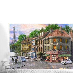 Кафешка на углу с видом на Эйфелеву башню