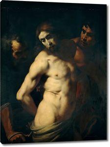 Креспи Даниэле. Бичевание Христа