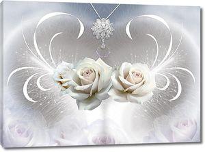 Розы с подвеской