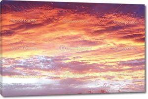 Небо во время заката