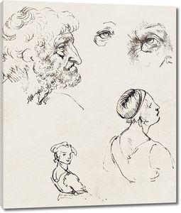 Леонардо да Винчи. Лист исследований