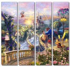 Мир сказки Красавица и Чудовище