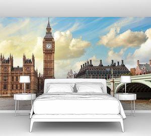 Биг-Бен и парламент в Лондоне