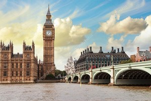 Биг-Бена, дома парламента и Вестминстерский мост