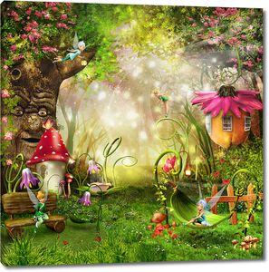 Сказочные феи на сказочной полянке