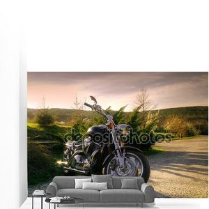 Мотоцикл в природе