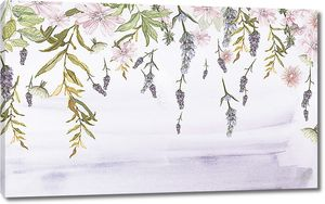 Падающие в воду соцветия