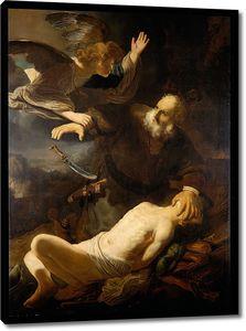 Рембрандт. Жертвоприношение Авраама (копия)