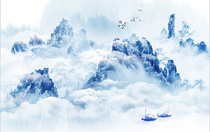 Облачные клубья в горах