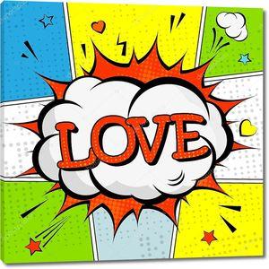 Любовь в стиле поп-арт
