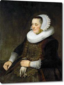 Рембрандт Ван. Портрет молодой женщины