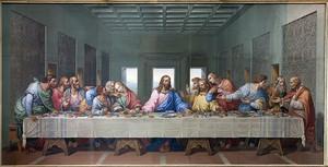 Последний ужин Иисуса у Джакомо Рафаэлли