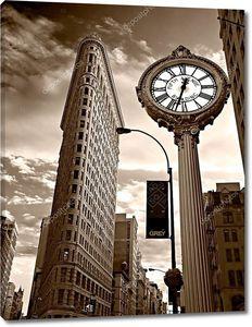Нью-Йорк -march 29: утюг фасад здания на 29 марта 2011.