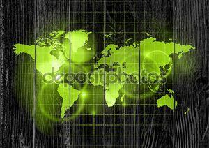 зеленый мир