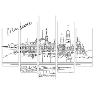 Векторные иллюстрации из Москвы