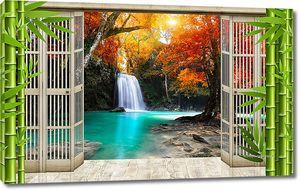 Водопад из распахнутых дверей