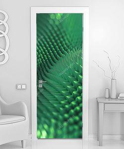 Абстрактные 3d колючий фон,графика, зеленый макро tex