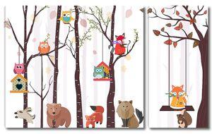 Лесные животные
