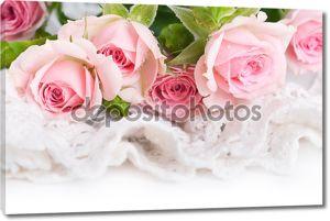 Красивые розы в стиле ретро