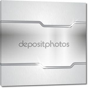 Пунктирная металлические абстрактные фоном