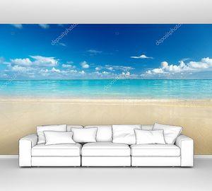 Песок пляжа Карибского моря