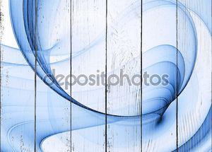 Бело-синий абстрактный фон