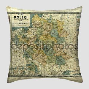 Польша старой карте 1770