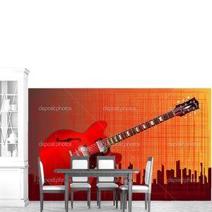 Гитара городской гранж