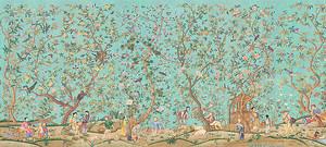 Китайский яблоневый сад
