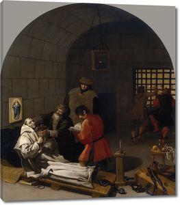 Кардучо Висенте. Смерть Ландуина в подземелье