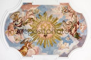 ангелы фрески