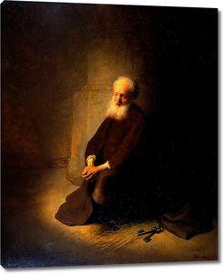 Рембрандт. Апостол Петр в тюрьме