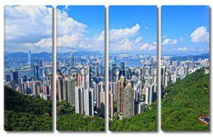 Гонконг вид с пика