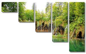 Озера plitvice