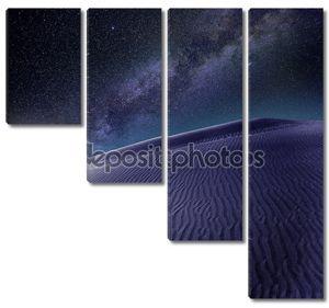 Пустыня песчаные дюны в Маспаломас Гран-Канарии