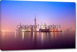Шанхай в рассвет