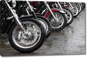Строка мотоциклов