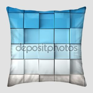 Кубики фона в синего тона