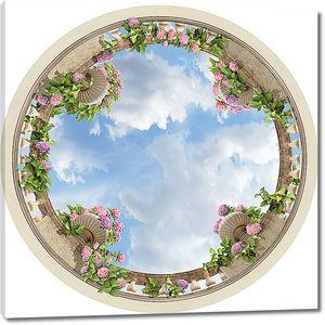 Небо с вазонами