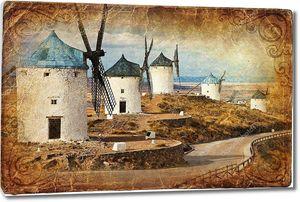 Средневековая Испания - ветряные мельницы